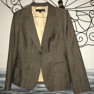 Anne Klein! women's pinstripe blazer jacket 6P